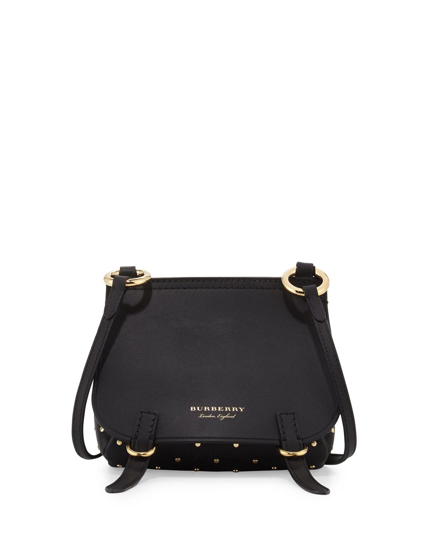 9a6ea16c5197 Burberry Bridle Baby Studded Leather Shoulder Bag