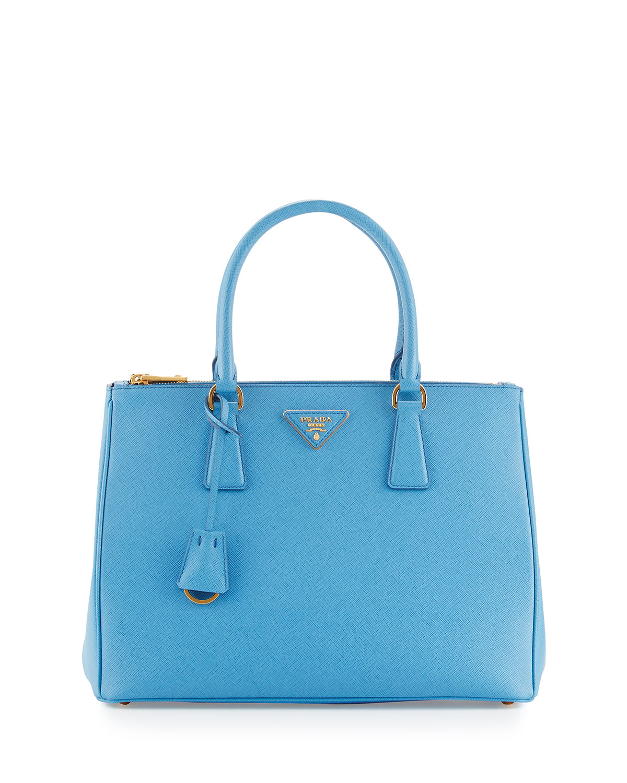 5241ea934f1b Prada Galleria Saffiano Double-Zip Tote Bag