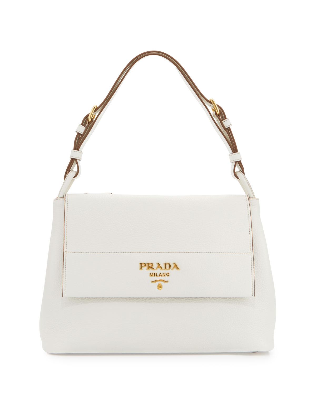 f1060da0755c Prada Vitello Daino Shoulder Bag