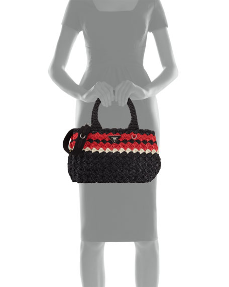 Giardiniera Raffia Tote Bag
