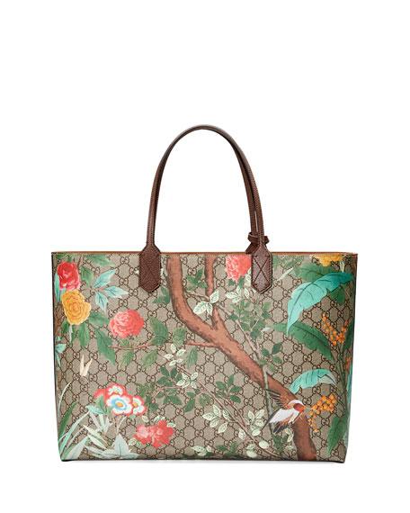 Tian GG Supreme Large Tote Bag, Brown