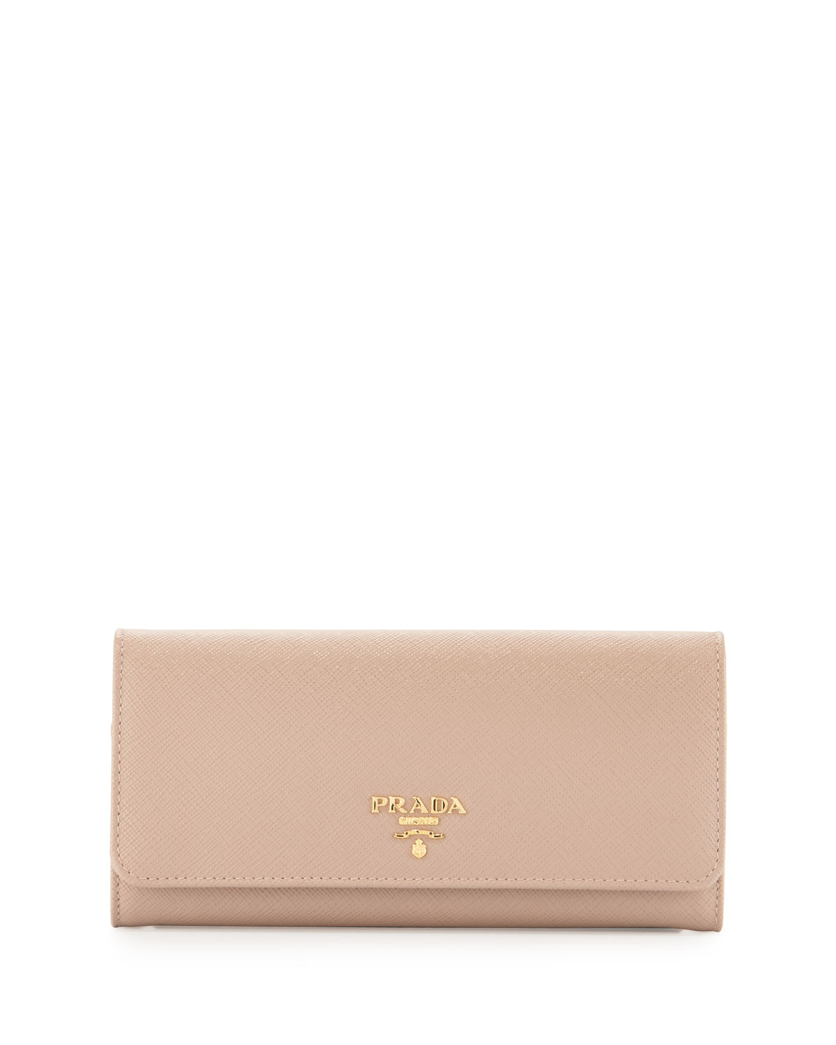 466f02602e949 Prada Saffiano Leather Continental Wallet