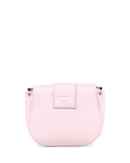 Pilgrim De Jour Leather Crossbody Bag, Pink