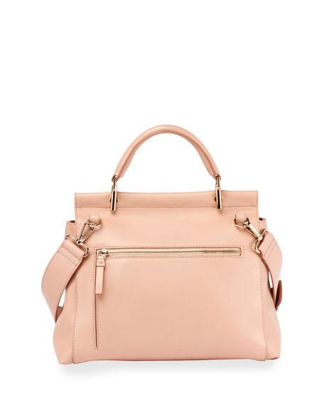 Viv Cabas Medium Top-Handle Satchel Bag, Nude