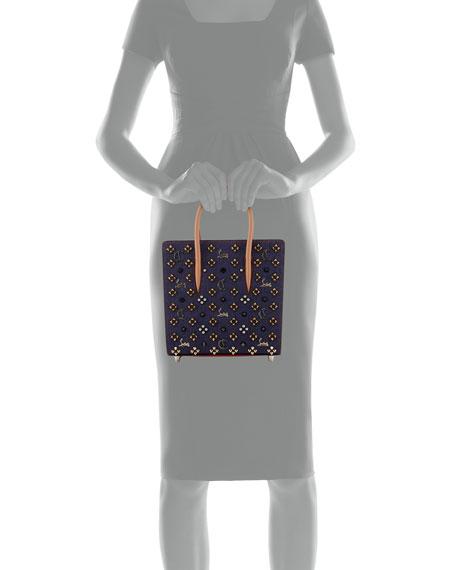 Paloma Small Denim Empire Studs Tote Bag