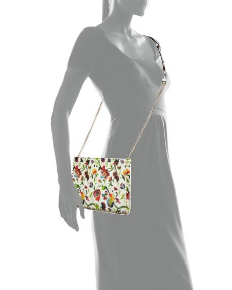 Loubiposh Floral Mosaic Clutch Bag, Multi