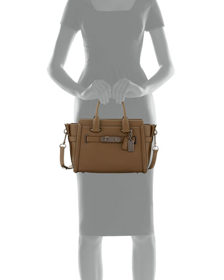 Swagger 27 Leather Satchel Bag