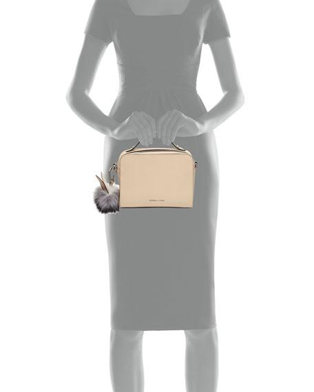 Lucy Pompom Camera Crossbody Bag