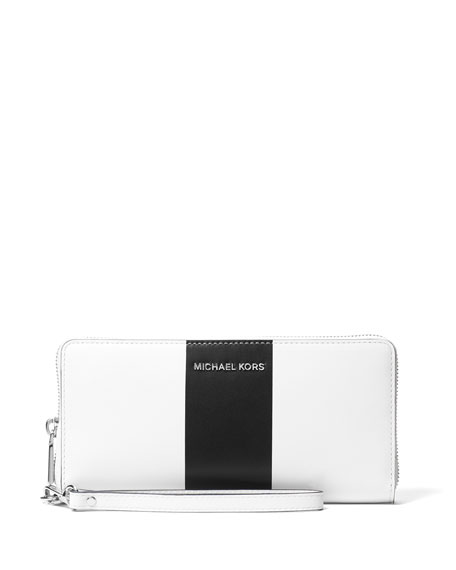 Jet Set Travel Striped Continental Wallet