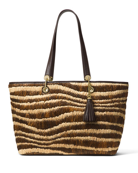 MICHAEL Michael Kors Malibu Large East-West Top-Zip Tote