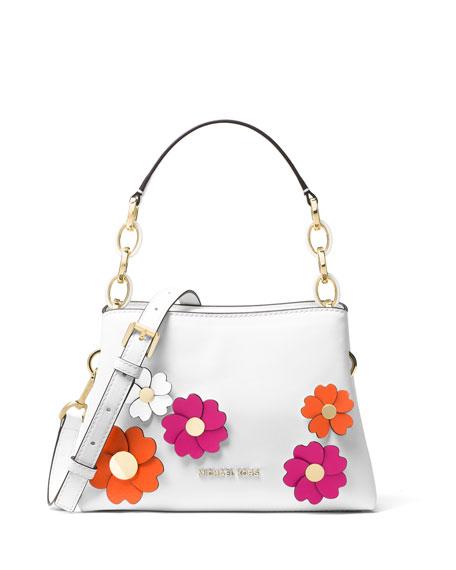 Portia Small Floral Shoulder Bag