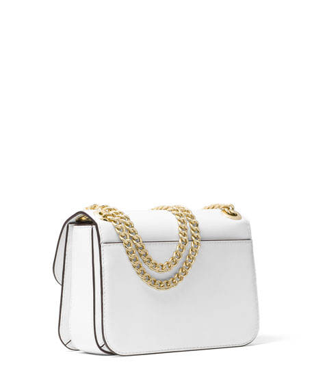 Sloan Editor Medium Floral Shoulder Bag