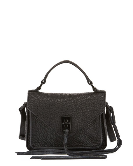 Darren Mini Leather Messenger Bag
