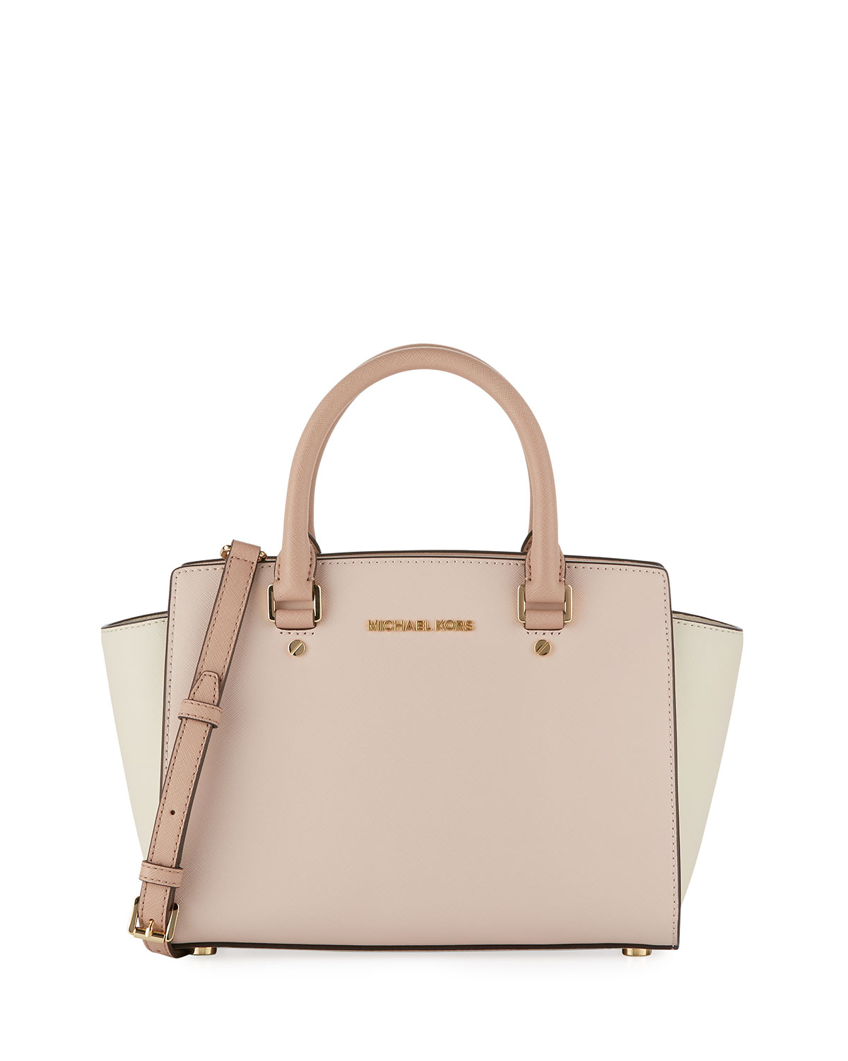b3fbaf30062bb5 MICHAEL Michael Kors Selma Medium Colorblock Saffiano Tote Bag ...