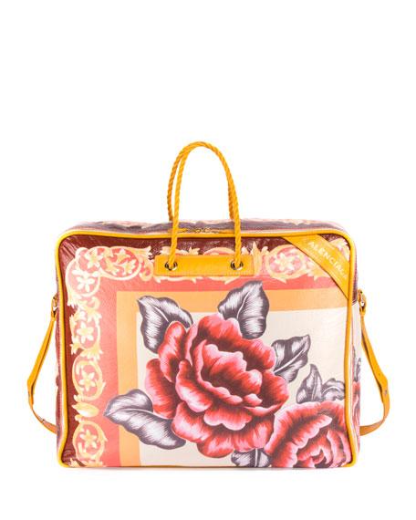 Blanket Square XL AJ Floral Tote Bag