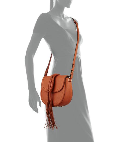 Ghianda Woven Knot Saddle Bag, Saddle