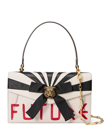 Gucci Osiride Future Bow Top-Handle Bag