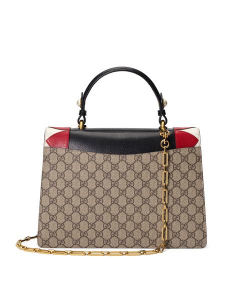 Broche GG Supreme Top-Handle Bag