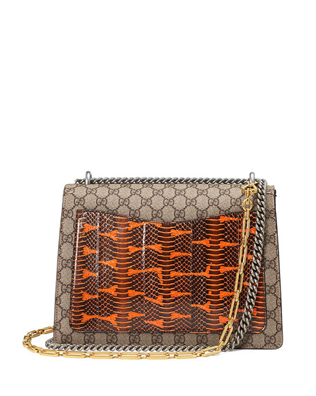 Dionysus Medium Elton Shoulder Bag, Neutral/Multi