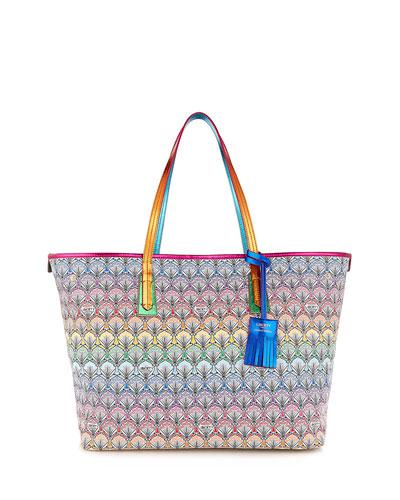 5186bc1810844 Liberty London Marlborough Rainbow Tote Bag