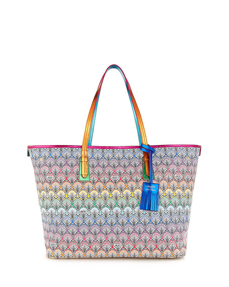 Liberty London Marlborough Rainbow Tote Bag, Multi