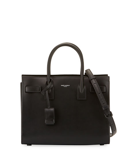 Saint Laurent Sac De Jour Baby Bonded Tote