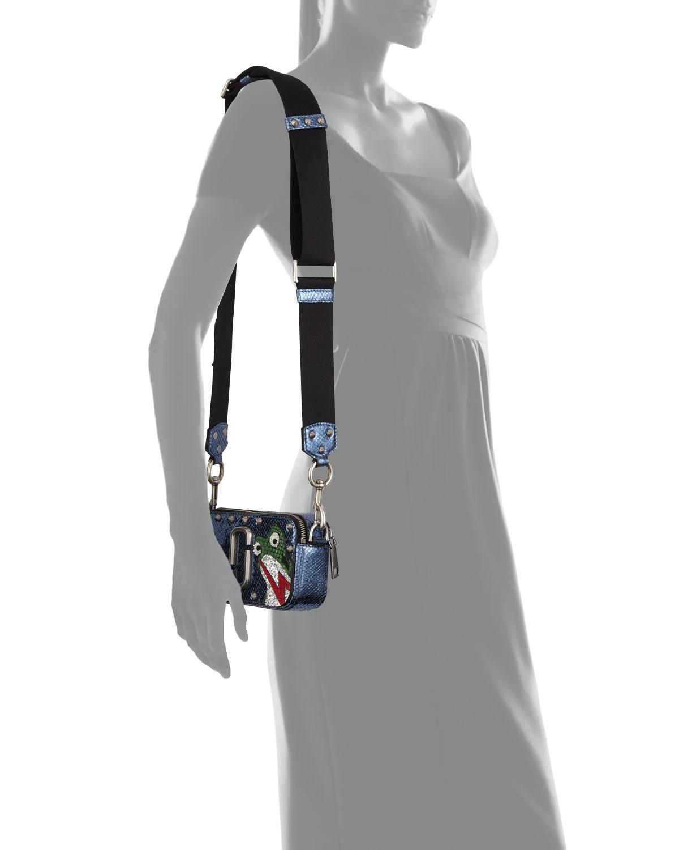 Marc Jacobs Snapshot Frog Camera Bag Navy Neiman Marcus Tendencies Back Pack Arcus