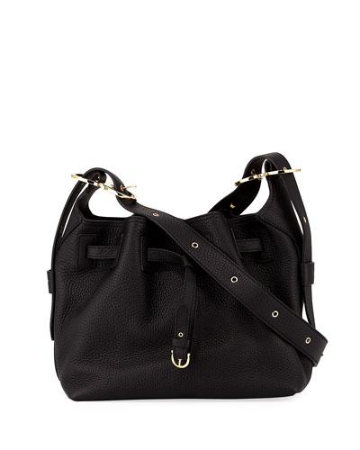 Salvatore Ferragamo Carla Small Pebbled Leather Bucket Bag eb60370b99eda
