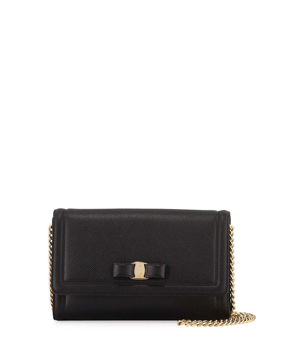 d1a267d77b Salvatore Ferragamo Vara Mini Saffiano Crossbody Bag