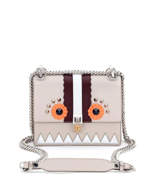 3858c178d360 Fendi Kan I Faces Mini Shoulder Bag