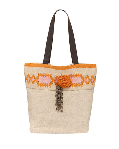 Nomad Beach Tote Bag, Beige