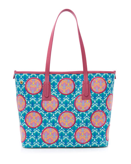 Liberty London Little Marlborough Polka-Dot Iphis Tote Bag,