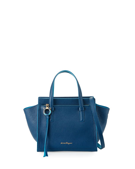 Salvatore Ferragamo Amy Small Leather Tote Bag 012ac1621021d