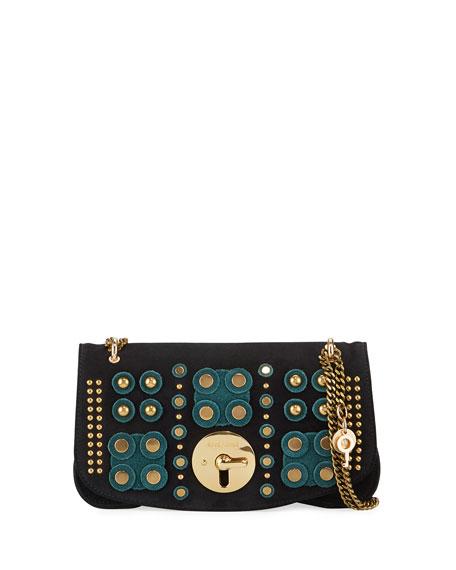 Medium Studded Chain Shoulder Bag