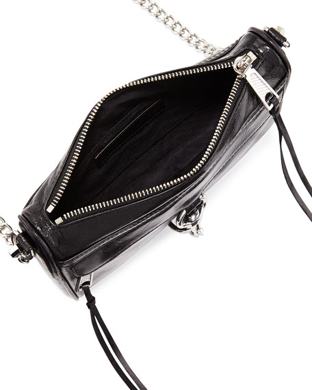 Mini MAC Smooth Leather Crossbody Bag