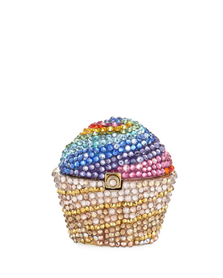 Rainbow Cupcake Pill Box, Multicolor