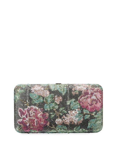 Judith Leiber Couture Pink Symphony Large Clutch Bag,