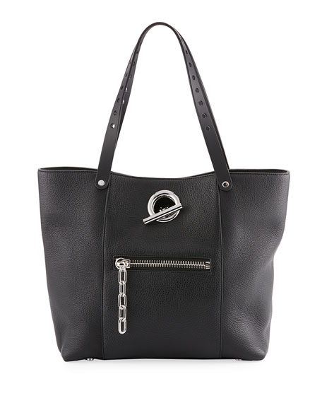 Alexander Wang Riot Leather Tote Bag, Black