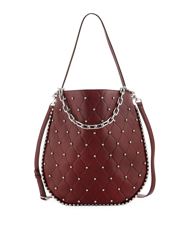 627324de39 Alexander Wang Roxy Refined Pebbled Hobo Bag