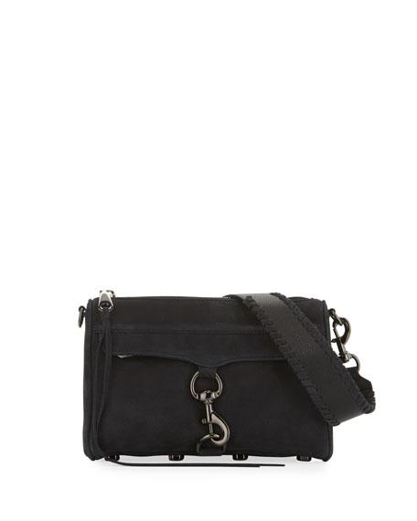 Rebecca Minkoff Mini MAC Nubuck Leather Crossbody Bag