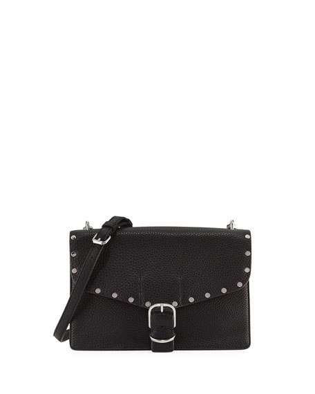 Rebecca Minkoff Medium Biker Crossbody Bag, Black