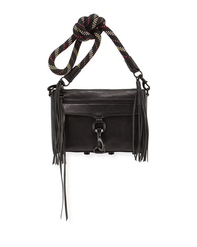 MAC Mini Climbing Rope Handbag, Black