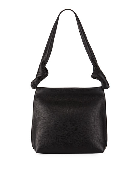 THE ROW Wander Small Shoulder Bag, Black | Neiman Marcus