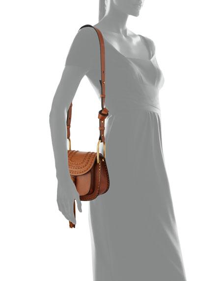 Hudson Mini Leather Saddle Bag
