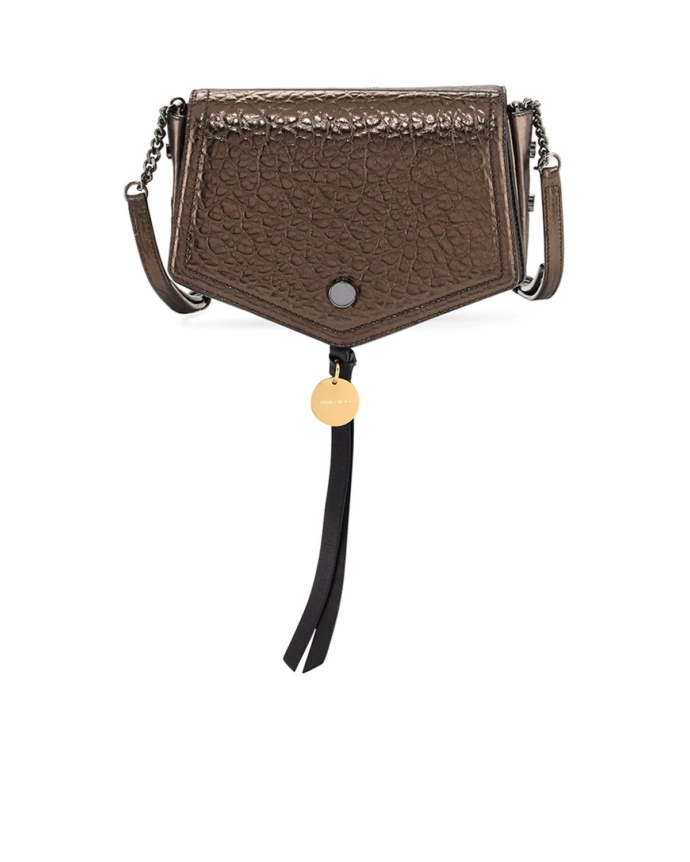 b699b7991145 Jimmy Choo Arrow Metallic Leather Crossbody Bag