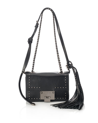 Rebel Soft Mini Crossbody Bag, Black