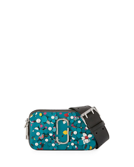 Marc Jacobs Snapshot 3D Painted Flowers Camera Bag,