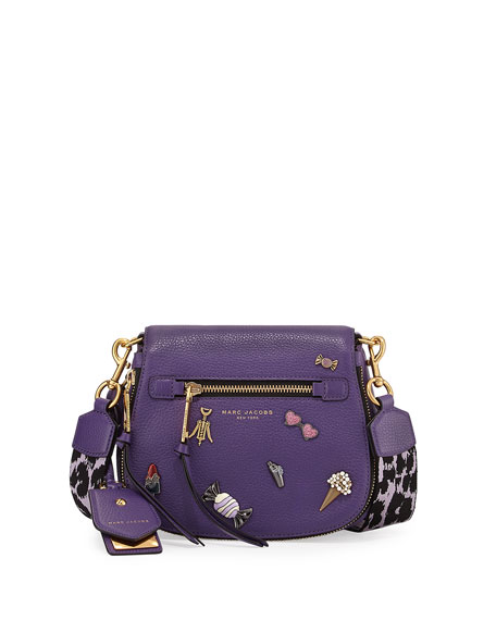Marc Jacobs Nomad Small Pebbled Leather Crossbody Bag,