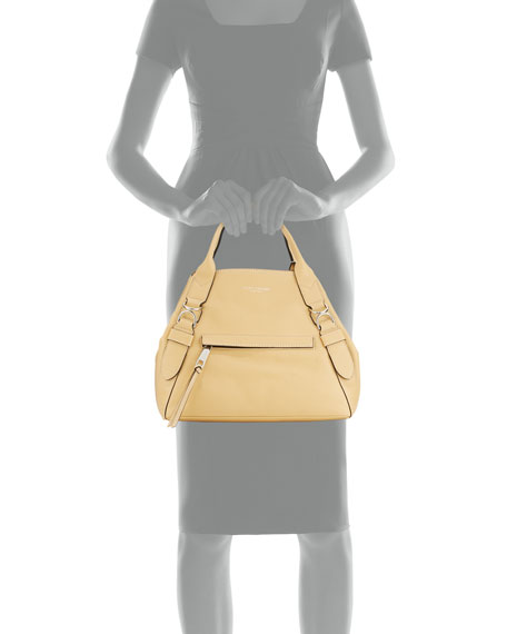The Anchor Leather A-Shape Tote Bag