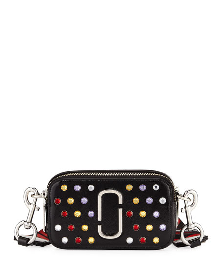 Marc Jacobs Snapshot Small Jeweled Camera Bag